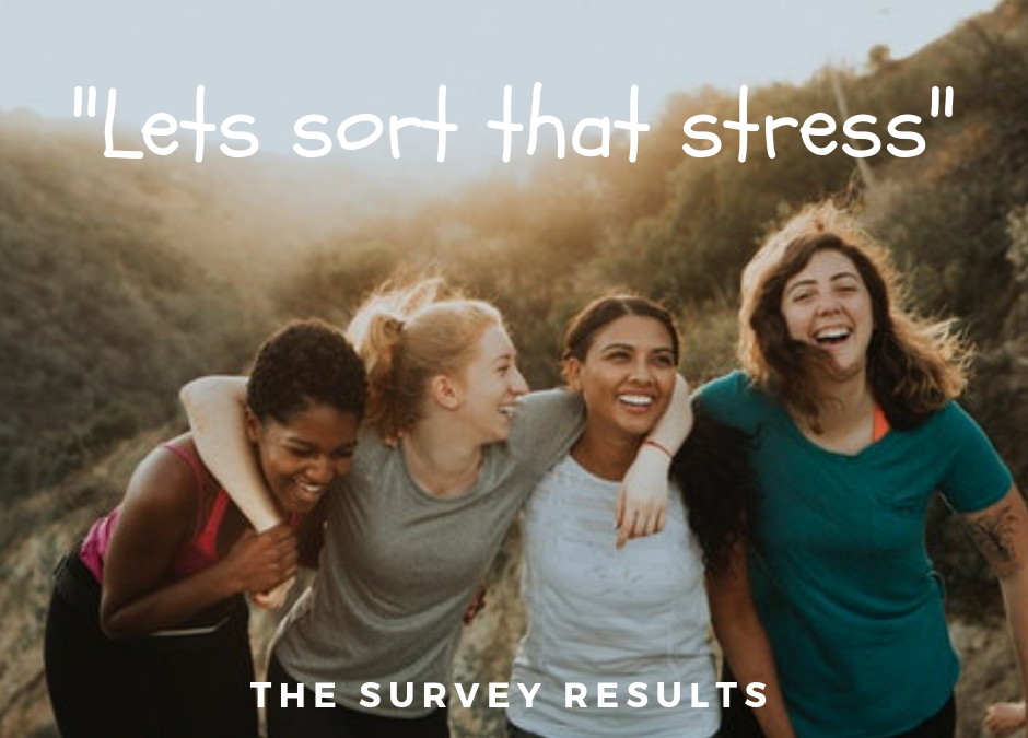 Let's sort that stress: the survey results