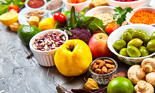 nutritional work to restore energy levels
